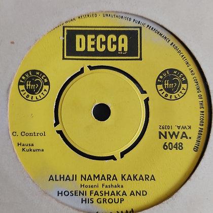 Hoseni Fashaka - Wakar Soja [Decca] Hausa
