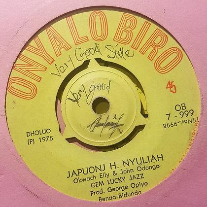 Gem Lucky Jazz - Japuonj H Nyuliah [Onyalo Biro]