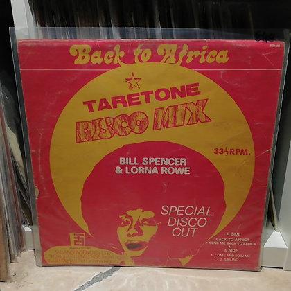 Bill Spencer, I Repo, Lorna Rowe – Back To Africa [Taretone]