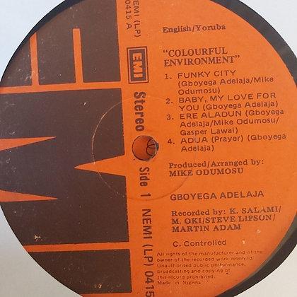 Gboyega Adelaja – Colourful Environment [EMI]