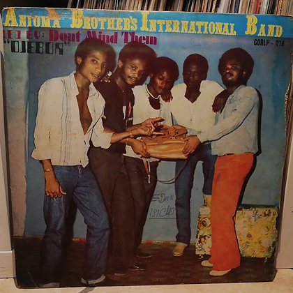 Anioma Brothers International Band - Ojebor [Cordos Records]