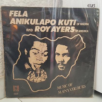 Fela Anikulapo Kuti And Roy Ayers – Music Of Many Colours