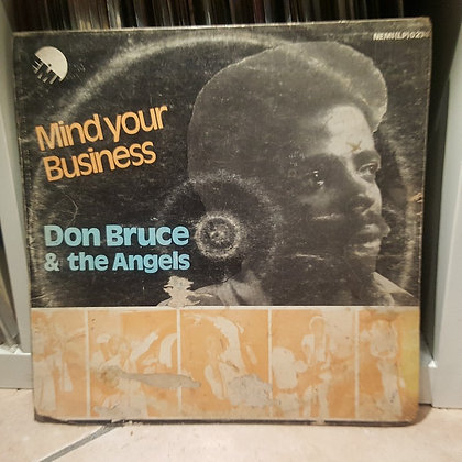 Don Bruce And The Angels – Mind Your Business [EMI]