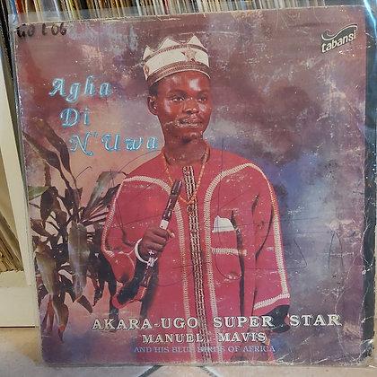 Akara-Ugo Super Star Manuel Mavis & His Blue Birds Of Africa [Tabansi]