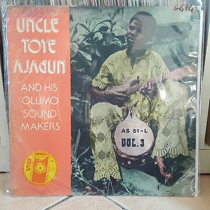 Uncle Toye Ajagun And His Olumo Sound Makers – Vol. 3 [African Songs Ltd ]
