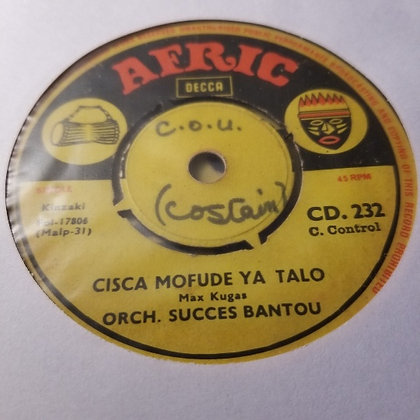 Orch. Succes Bantou - Zololo / Cisca Mofude Ya Talo [Afric - Decca]