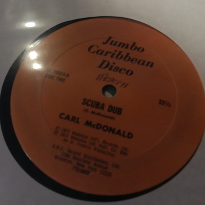 Carl McDonald – Back To Africa / Scuba Dub [Jumbo Caribbean Disco]