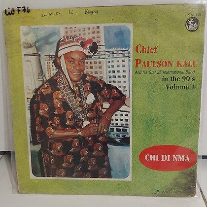 Paulson kalu & His Star 25 Int. Band - Chi Di Nma