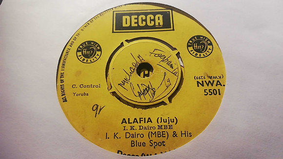 I.K. Dairo (MBE) & His Blue Spots - I Remember My Darling [Decca]