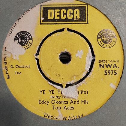 Eddy Okonta & The Aces - Ayama Ayama [Decca] Nwa 5975
