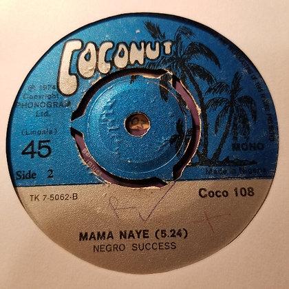 Orch. Les Noirs - Masikini + Negro Success - Mama Naye [Coconut]