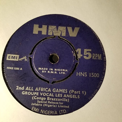 Groupe Vocal Les Angels - 2nd All Africa Games [Part 1 & 2]