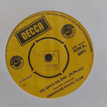Obinwane Social Club - Chineke Nna Onyeokike [Decca]