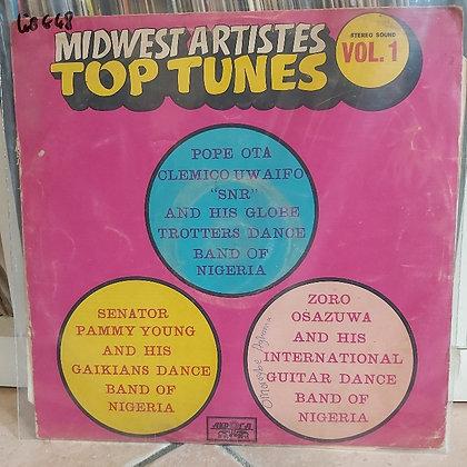 Midwest Artistes Top Tunes - Vol 1 [Akpola]