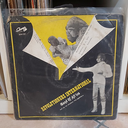 Revolutioners International Band Of Africa [Shanu Olu Sos137]