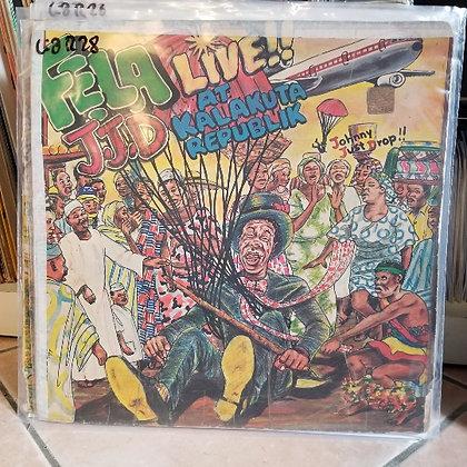 Fela - J.J.D (Johnny Just Drop!!) - Live!! At Kalakuta Republik