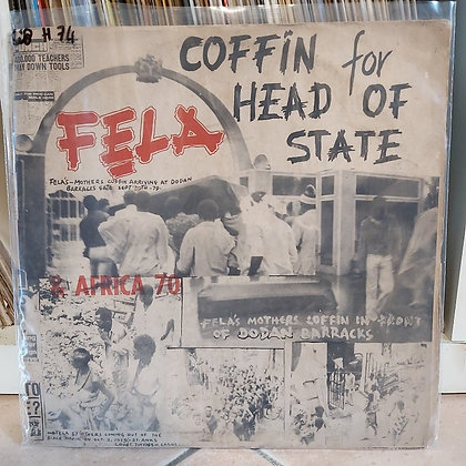 Fẹla & Africa 70 – Coffin For Head Of State [Kalakuta]