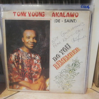 Tony Young Akalawu - Do You Remember [KBR001] RARE!!!!