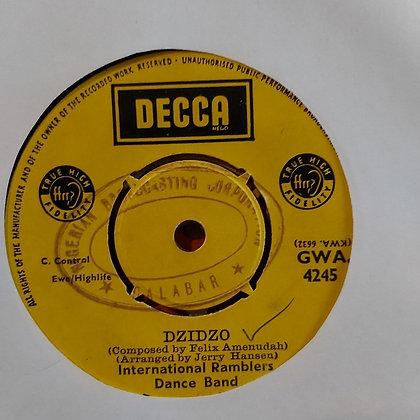 International Ramblers Dance Band - Dzidzo / Adowa Wuo [Decca]