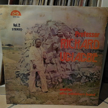 Professor Richard Ugiagbe And His Afro Ministers Band ‎– Vol. 2 [Shanu Olu]