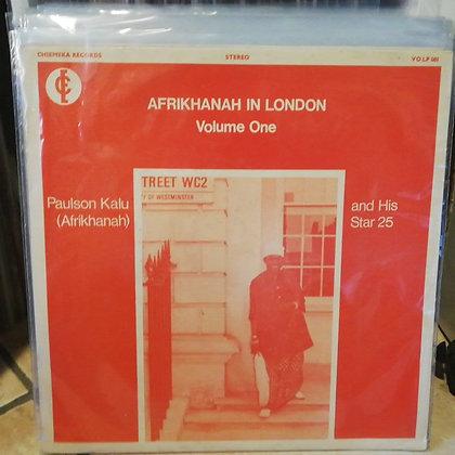 Paulson Kalu (Afrikhanah) And His Star 25 – Afrikanah In London Volume One