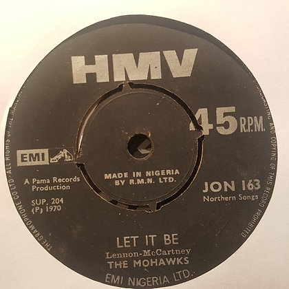 The Mohawks – Let It Be [HMV]