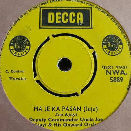 Deputy Commander Uncle Joe Ajayi - Mo Dupe Lowo Ori [Decca] NWA 5889