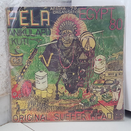 Fela - Original Suffer Head [Lagos International Records ‎– LIR 2]