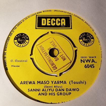 Sanny Aliyu Dan Dawo & His Group - Wokilin Doka Yawuri [Decca]