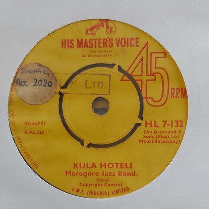 Morogoro Jazz Band – Dunia / Kula Hoteli [HMV]