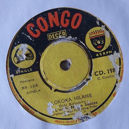 Orch. Négro Succès – Lokoka Hilaire [Congo Decca]