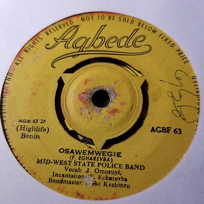 Mid-Wast State police Band - Aimiovbiyebie [Agbede]