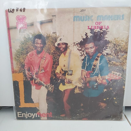 Music Makers Of Liberia ‎– Enjoyment [RAS]