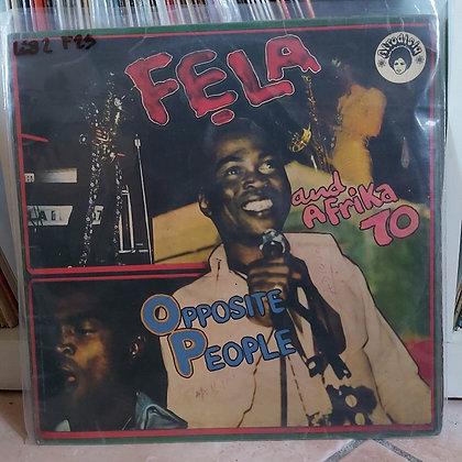 Fẹla And Afrika 70 – Opposite People [Afrodisia]