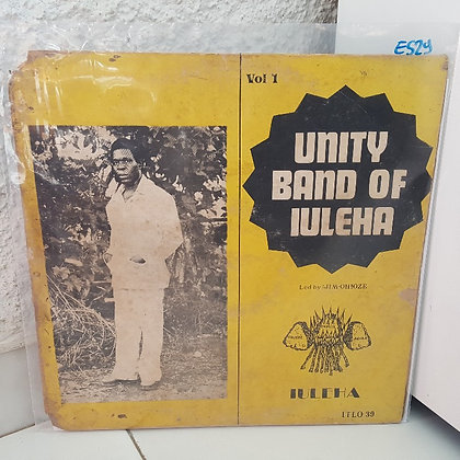 Unity Band Of Iuleha ‎– Vol. 1 [Ijebor Records ‎– ITL 039]