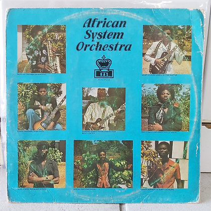 African System Orchestra [RAS ASALPS 33]