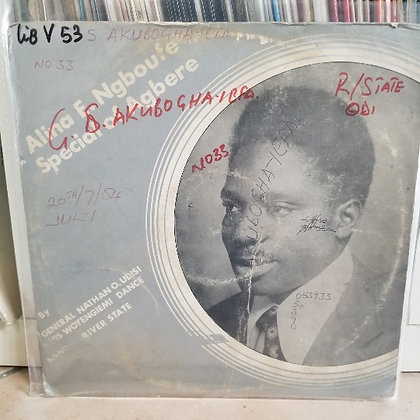 Nathan O. Udisi And His Woyengi Emi Dance Band Of Odi [Udisi]