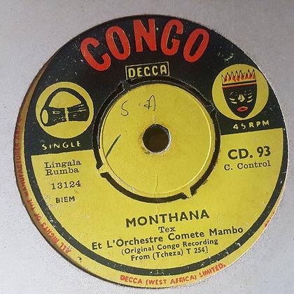 Jogo Et Orchestre Comete Mambo - Yoka Meje [Congo - Decca]