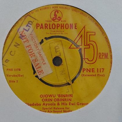Gbadebo Ayoola & His Ewi Group - Oriki Ibeji [Parlophone]
