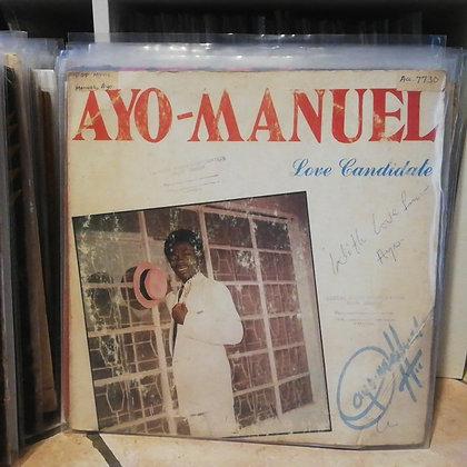 Ayo-Manuel – Love Candidate [MansMark – MM 001]