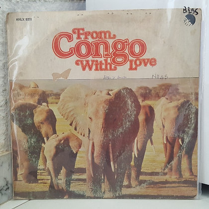 Various - From Congo With Love [EMI] Blue Wax