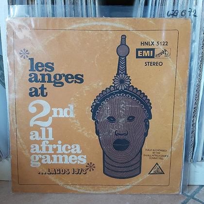 Les Anges At 2nd All Africa Games ...Lagos 1973 [EMI]