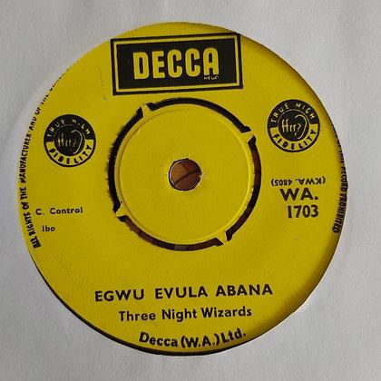 Three Night Wizards - All Round Me Short [Decca] 60's