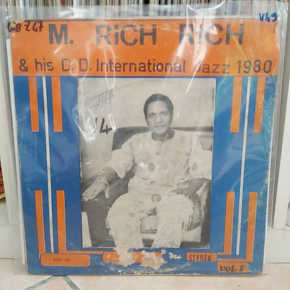 M. Rich Rich & His D.D. International Jazz 1980 – Vol. 1 [Blessede David]