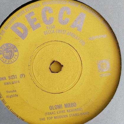 Top Modern Stars Band - Omo Nio Simi [Decca] Nwa 5331