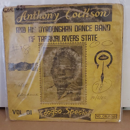 Anthony Cockson And His Oyadonghan Dance Band – Edogbo Special Vol. 01