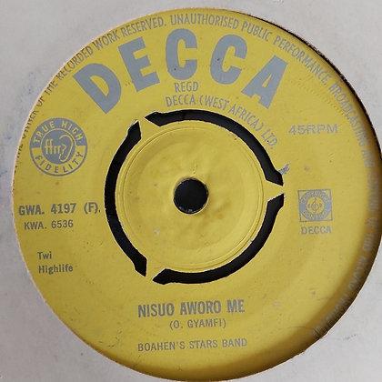 Boahen's Stars Band - Mede Mawereho Beko [Decca] Gwa 4197
