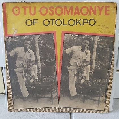 Otu Osomaonye Of Otolokpo [Son Of Man]