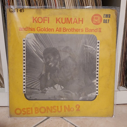 Kofi Kumah And His Golden All Brothers Band II – Osei Bonsu N.2 [Excellent-Way]