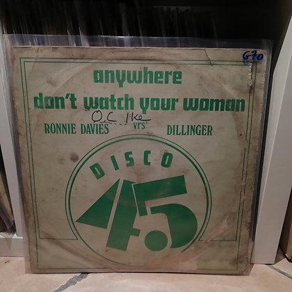 Ronnie Davis Vrs Dillinger / Barry Brown Vrs The Aggrovators – Anywhere / Mr Mo